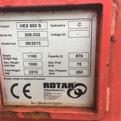 Rotar Screening Drum - HEX 850 S