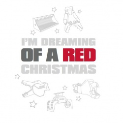 I'm dreaming of a RED Christmas