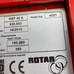 Rotar Static Pulverizer - RSP 40 S - 935.003