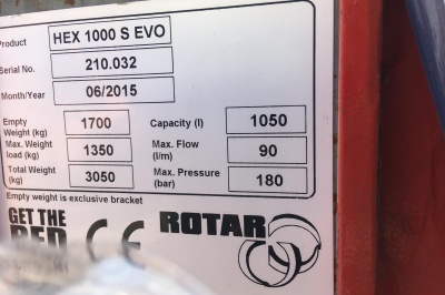 Rotar Screening Drum - HEX 1000 S EVO - 210.032