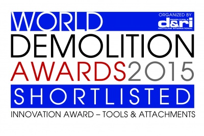 Wir sind nominiert für den World Demolition Awards 2015!