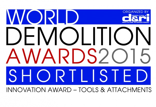 We are shortlisted for the 2015 World Demolition Awards!